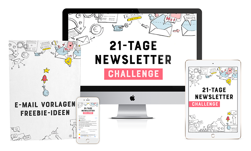 21-Tage Newsletter Challenge by Johanna Fritz